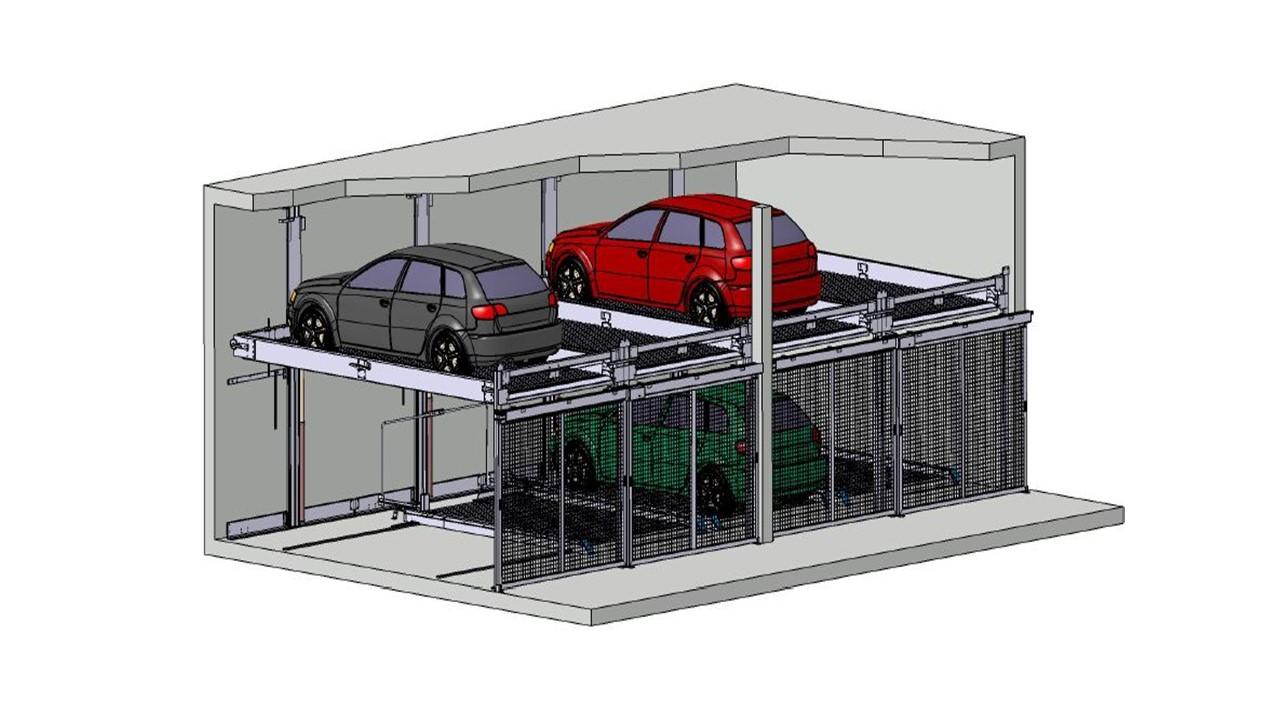 Automatische Autoparksysteme
