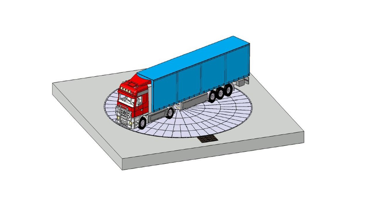 Truck Turntable