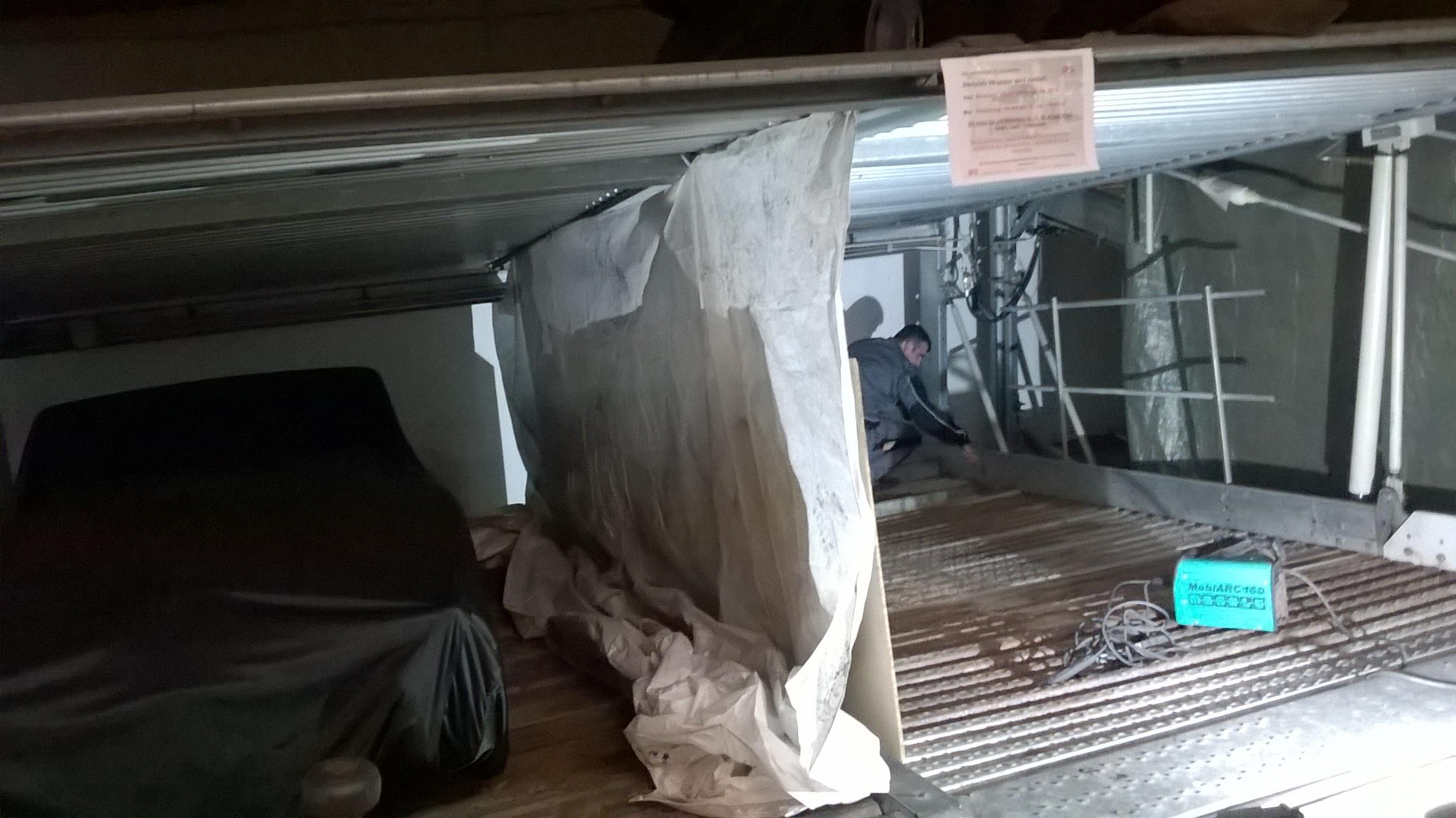Doppelparker Sanierung