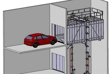 Autoaufzug, Autoaufzuege, Autolift, Fahrzeuglift