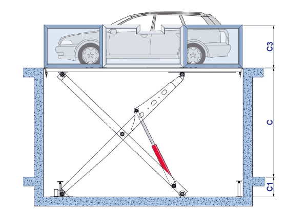 Autolift RISE-P | Autolift Garage